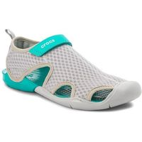 Sandały CROCS - Swiftwater Mesh Sandal W 204597 Light Grey, w 4 rozmiarach
