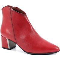 HISPANITAS HI99117 CZERWONE - Hiszpańskie botki - Czerwony, kolor czerwony