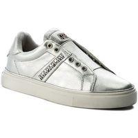 Sneakersy - alicia 16771593 silver n85 marki Napapijri