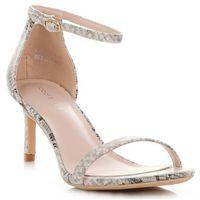 Klasyczne sandały damskie na szpilce renomowanej marki motyw węża (kolory) marki Ideal shoes