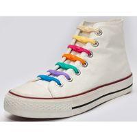 Shoeps silikonowe sznurowadła do butów mix 2015