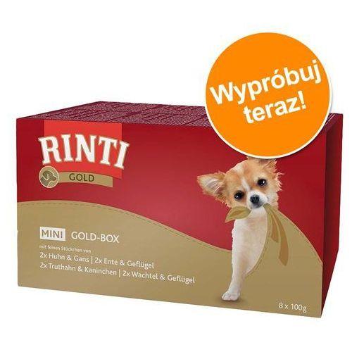 gold mini - multipack 8x100g marki Rinti