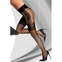 LivCo Corsetti Fashion Agniska Black 20 DEN rajstopy, kolor czarny