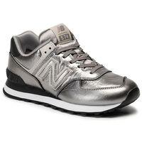 Sneakersy NEW BALANCE - WL574WNE Srebrny