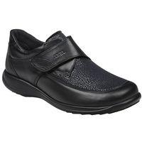 Axel Półbuty na rzepy buty comfort 1397 czarne