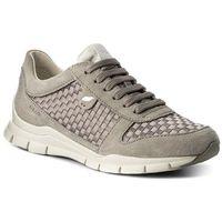 Sneakersy GEOX - D Sukie A D52F2A 022ZI C1414 Lt Grey, kolor szary