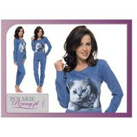 Piżama damska cat: jeans marki Dobranocka