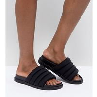 Monki padded sliders - black