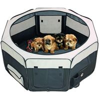 Karlie Domowy kojec dla psa, szczeniaków, psów i kotów 74x74x35 cm