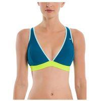 Strój kąpielowy - sporty halter top w elastic dark blue (bl168) marki Bench