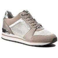 Sneakersy MICHAEL KORS - Billie Trainer 43S7BIFS1D Cement, 1 rozmiar