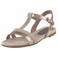 Sandały 2-28124 - różowe 01, Marco tozzi