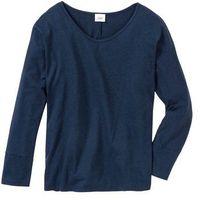 Shirt do spania oversize bonprix ciemnoniebieski melanż