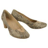 Marco shoes 0700p-311-027-1 beżowy, czółenka damskie