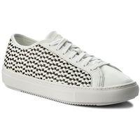 Sneakersy LE COQ SPORTIF - Jane Woven 1810031 Optical White/Black