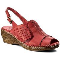 Sandały - 40c1410 czerwony marki Lanqier
