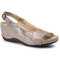 Sandały BERKEMANN - Phoebe 01763 Bronze/Glit/Wabe/Shin 428