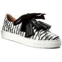 Sneakersy BADURA - 6347-69 Czarno Biały