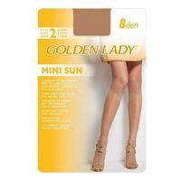 Golden Lady Mini Sun 8 den A'2 2-pack podkolanówki (8300497298402)