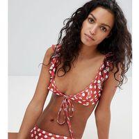 frill wrap bikini top - multi, Peek & beau