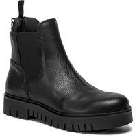 Sztyblety TOMMY JEANS - Padded Tongue Chelsea Boot EN0EN00620 Black 990, w 6 rozmiarach