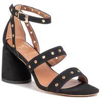 Sandały BALDOWSKI - D03021-4744-002 Zamsz Czarny, kolor czarny