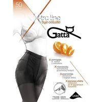 Gatta Rajstopy bye cellulite 50 den grafit/odc.szarego - grafit/odc.szarego