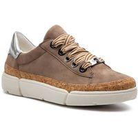 Sneakersy - 12-14404-05 taupe/natur/silber, Ara