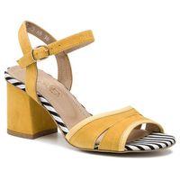 Ann mex Sandały - 0266 10w+10s+01ps żółty