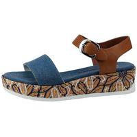 U.S. POLO ASSN. sandały damskie Elba Denim 39 niebieskie, kolor niebieski