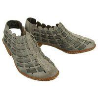 RIEKER 46778-40 grey, sandały damskie - Szary (4020932722210)