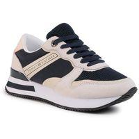 Sneakersy TOMMY HILFIGER - Feminine Active City Sneaker FW0FW04696 Desert Sky DW5, w 7 rozmiarach
