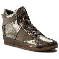 Sneakersy KHRIO - 162K1200VGXLQ Koala/Platino/T.Moro, kolor brązowy
