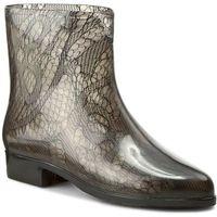 Kalosze MEL BY MELISSA - Ankle Boots Socks SP AD 32034 Smoke 06005, w 5 rozmiarach