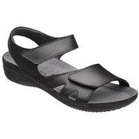 Sandały damskie KACPER 2-2513-253 Czarne, kolor czarny