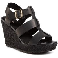 Espadryle - maritsa95 glad 261492944 black leather marki Clarks