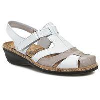 Sandały - 720079 weiss 3 marki Comfortabel