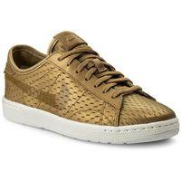 Buty NIKE - Tennis Classic Ultra Prm 749647 700 Metallic Gold/Flt Gold, kolor żółty
