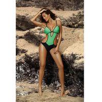 Marko Jednoczęściowy strój kąpielowy kostium kąpielowy model crystal maladive m-492 green -