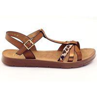 Sandały damskie panterka wz 103, 1 rozmiar