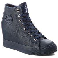 Sneakersy BIG STAR - BB274301 Granat