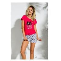 Piżama damska TARO 2153 Kira malinowa, kolor różowy