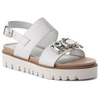 Sandały EVA MINGE - Calvia 3F 18SF1372482ES 102, kolor biały