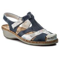 Sandały - 720116 blau 5, Comfortabel, 36-38