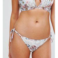 Peek & Beau Crochet Insert Bikini Bottom - Multi, bikini
