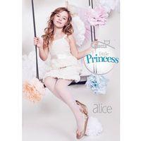 Rajstopy little princess alice 1 wz.50 rozmiar: 140-146, kolor: biały, gatta marki Gatta
