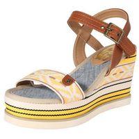 sandały 'canvas' beżowy / brązowy / żółty marki Refresh