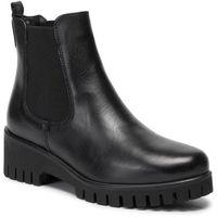 Sztyblety TAMARIS - 1-25461-23 Black Leather 003, sztyblety