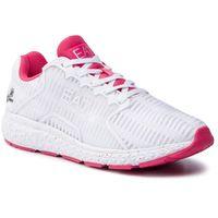 Sneakersy EA7 EMPORIO ARMANI - X8X032 XK055 A041 White/Red
