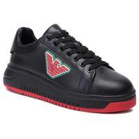 Sneakersy - x3x070 xf390 00002 black, Emporio armani